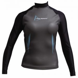 aqua sphere glide neoprene ladies long sleeve swim top