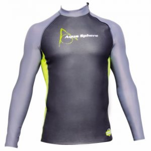 aqua sphere glide neoprene long sleeve swim top