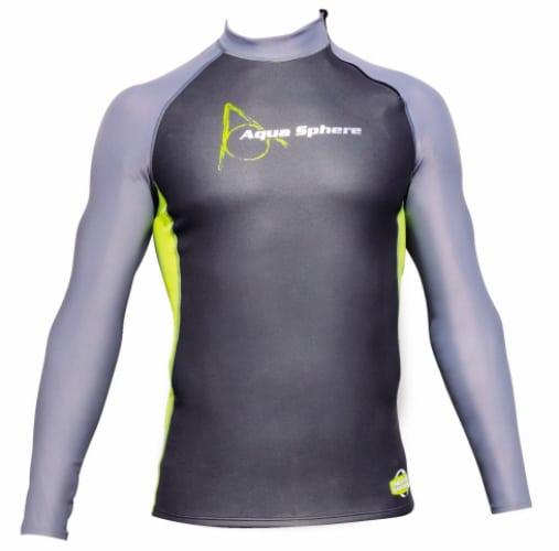aqua sphere glide neoprene long sleeve swim top