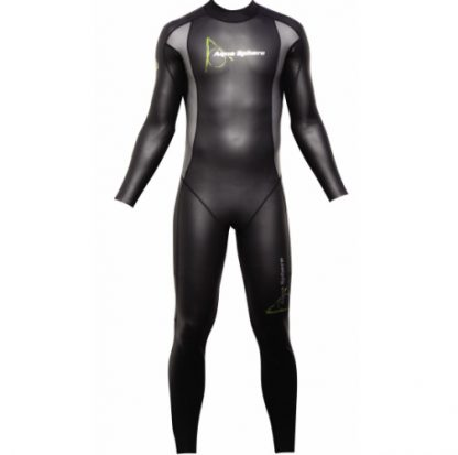aqua sphere glide neoprene mens swimming wetsuit