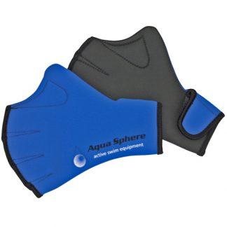 aqua sphere neoprene webbed fitness swim gloves