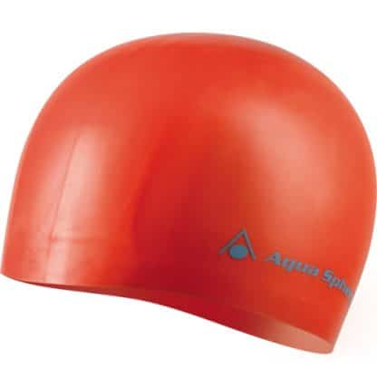 aqua sphere volume cap silicone long hair red