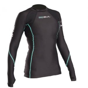 gul evotherm long sleeve ladies thermal swim top