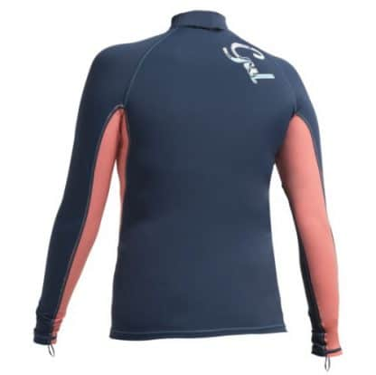 gul swami rash top long sleeve back