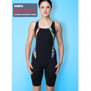 maru reflect legged swim suit