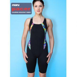 maru reflect legged swim suit