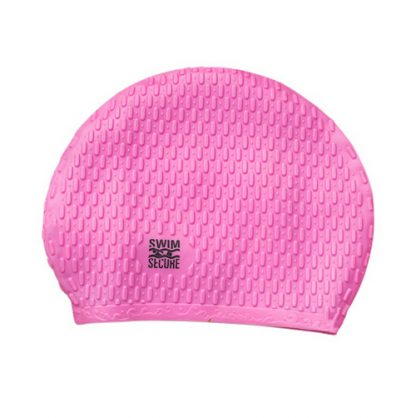 swim secure outdoor bright swim cap