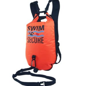 swim secure chillswim inflatable dry bag back pack wild swimming