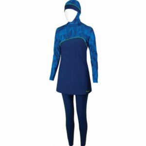 zoggs modesty full length hooded swim outfit