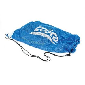 zoggs mesh carry all blue swim kit bag
