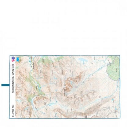 lifeventure soft fibre giant trek towel lightweight os map ben nevis