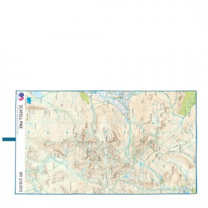 lifeventure soft fibre giant trek towel lightweight os map scafell pike