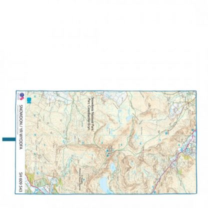 lifeventure soft fibre giant trek towel lightweight os map snowdon
