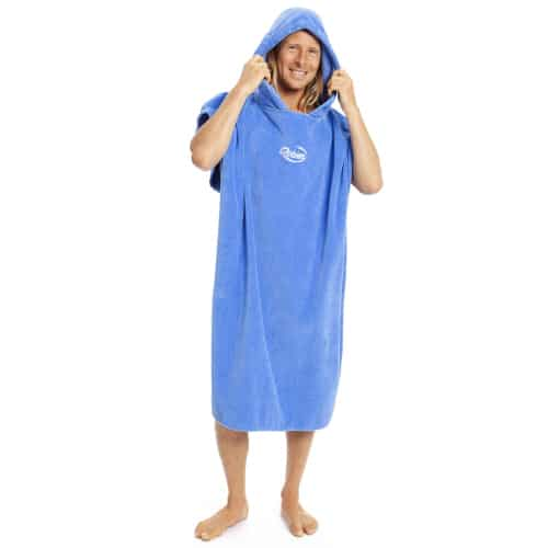 robie robies changing towel robe blue