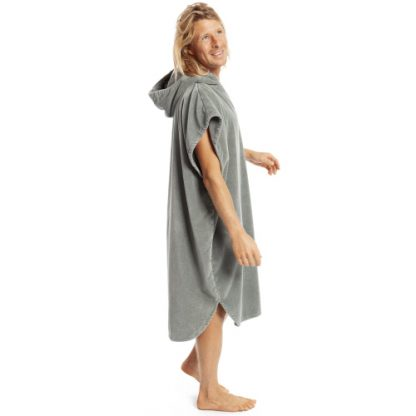 robie robies changing towel robe fgrey