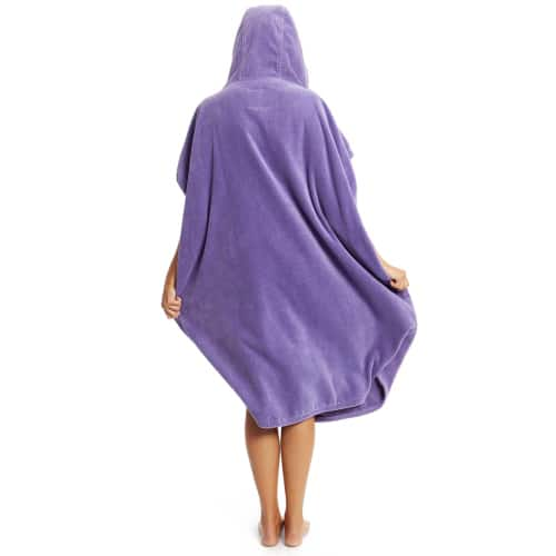 robie robies changing towel robe lilac