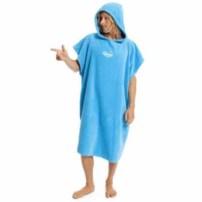 robie robies unisex changing towel robe blue