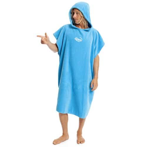 robie robies unisex changing towel robe blue