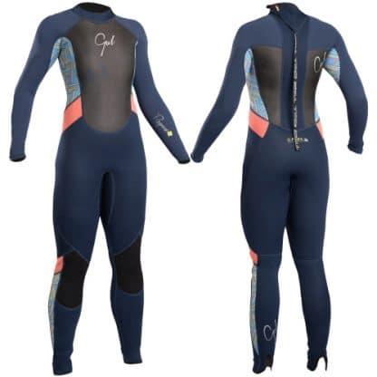 gul girls full surf wetsuit