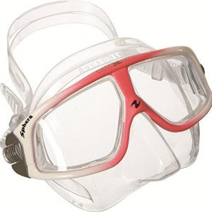 qua lung sphera comfortable lightweight antifog snorkel mask